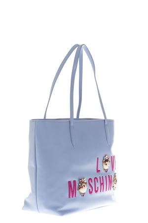 EMBELLISHED FAUX LEATHER TOTE SS 2017 LOVE MOSCHINO | 2 | JC4313PP03KRUNI0703