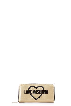 PVC WALLET WITH LOGO SS 2017 LOVE MOSCHINO | 34 | JC5548PP03KP10901