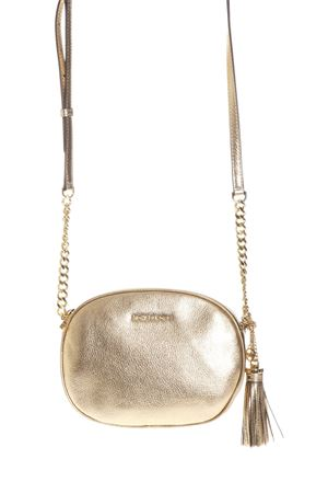 GINNY MEDIUM METALLIC LEATHER CROSSBODY SS 2017 MICHAEL MICHAEL KORS | 2 | 30S7MGNM2KMD MESSENGER740