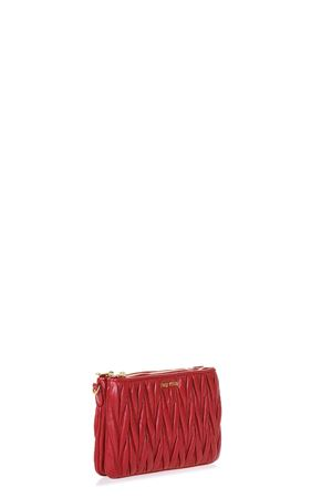 QUILTED LEATHER SHOULDER BAG SS 2017 MIU MIU | 2 | 5BH057N88F068Z