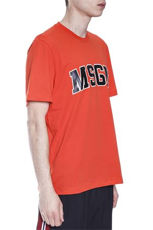 T-SHIRT IN COTONE LOGO MSGM PE 2017 MSGM | 15 | 2240MM6117429818