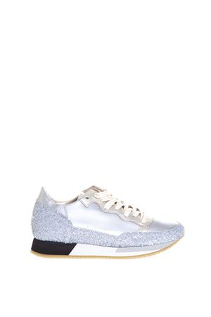 BRIGHT GLITTER & LEATHER SNEAKERS SS 17 PHILIPPE MODEL | 55 | CHLDBRIGHT L D METALLICMG12