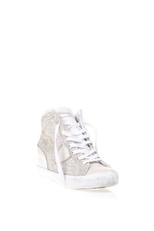 METALLIC LEATHER SNEAKERS SS 17 PHILIPPE MODEL | 55 | PFHDPIAF H D LAS VEGAS LP55