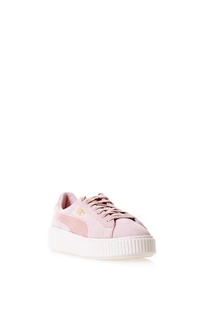SUEDE SNEAKERS WITH LOGO SS 2017 PUMA SELECT | 55 | 365828031SILVER