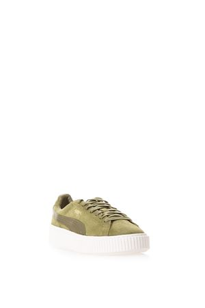 SUEDE SNEAKERS WITH LOGO SS 2017 PUMA SELECT | 55 | 365828041OLIVE