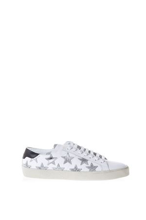 SNEAKERS WOLLY SOFT IN PELLE CON STELLE pe 2017 SAINT LAURENT | 55 | 419197D26409082