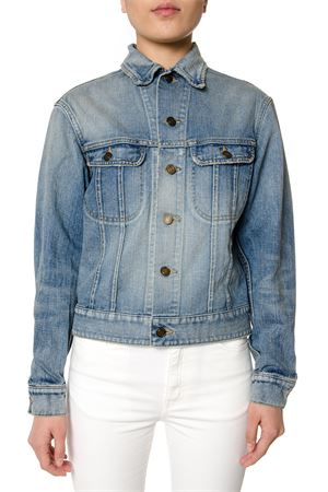 GIACCA IN DENIM CON BORCHIE PE 2017 SAINT LAURENT | 27 | 454865Y893M4950