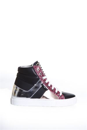 SNEAKERS HIGH-TOP IN PELLE E GLITTER pe 2017 THoMS NICOLL | 55 | 432VARIANTEB