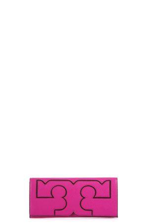 CLUTCH IN PELLE CON LOGO PE 2017 TORY BURCH   34   33230SERIF676