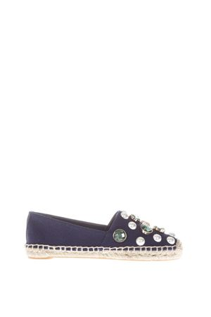 ESPADRILLES IN TELA CON STRASS 10MM PE 2017 TORY BURCH | 144 | 389711458