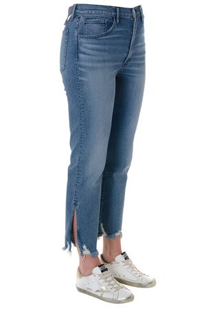 FLORIAN FRINGED CROPPED JEANS IN DENIM SS 2018 3X1 | 4 | W4SRC0754RELAXEDFLORIAN