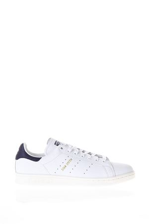 SNEAKERS STAN SMITH IN PELLE BIANCA E BLU PE 2018 ADIDAS ORIGINALS | 55 | CQ2870STAN SMITHFTWR WHITE