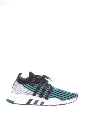 SNEAKERS EQT SUPPORT IN TESSUTO VERDE E GRIGIO PE 2018 ADIDAS ORIGINALS | 55 | CQ2998EQT SUPPORTCORE BLACK