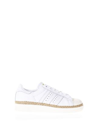 SUPERSTAR WHITE LEATHER SNEAKERS SS 2018 ADIDAS ORIGINALS | 55 | DA9573SUPERSTAR 80FTWR WHITE