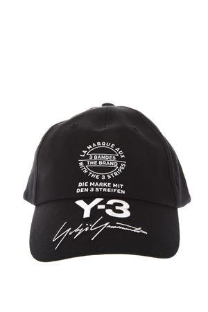 BLACK COTTON BASEBALL HAT WITH LOGO SS 2018 ADIDAS Y-3 | 17 | CY35381BLACK