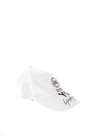 WHITE COTTON BASEBALL HAT WITH LOGO SS 2018 ADIDAS Y-3 | 17 | CY3539STREETWHITE