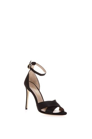 POWDER KIRA SANDALS IN BLACK LEATHER SS 2018 ALDO CASTAGNA | 87 | KIRA 50CAMOSCIONERO