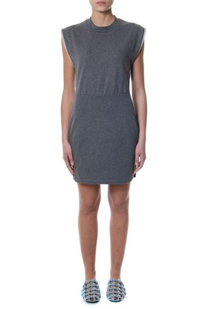 GRAY COTTON DRESS SS 2018 ALEXANDER WANG | 32 | 4C486026B2UNI010