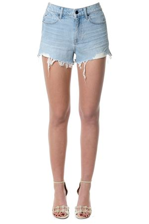 FLEECE & DENIM COTTON SHORTS SS 2018 ALEXANDER WANG | 110000034 | 4D994123ADDN1003108