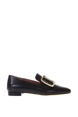 JANELLE BLACK LOAFERS IN LEATHER SS 2018 BALLY | 130 | 6213099JANELLE0100