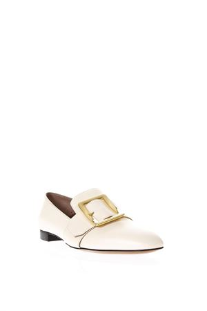 JANELLE IVORY LOAFERS IN LEATHER SS 2018 BALLY | 130 | 6217677JANELLE03015
