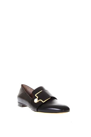 MAELLE BLACK LOAFERS IN LEATHER SS 2018 BALLY | 130 | 6220403MAELLE0100