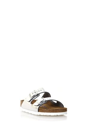 METALLIC SILVER ARIZONA SANDALS SS18 BIRKENSTOCK | 87 | 1005961ARIZONASILVER