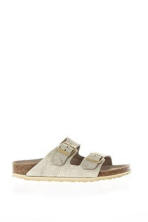 SANDALI ARIZONA IN NABUK PE18 BIRKENSTOCK | 87 | 1008798ARIZONACREAM GOLD