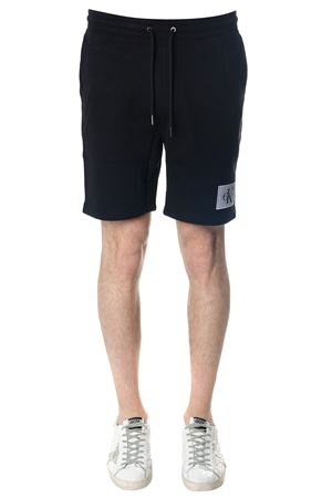 BLACK HOMEROS COTTON SHORTS SS 2018  CALVIN KLEIN | 110000034 | J30J307009HOMEROS 3099