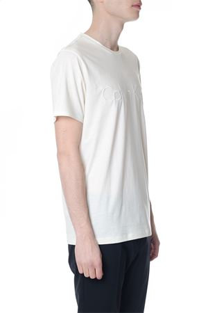 WHITE COTTON T-SHIRT WITH LOGO SS 2018 CALVIN KLEIN JEANS | 15 | K10K1019521106