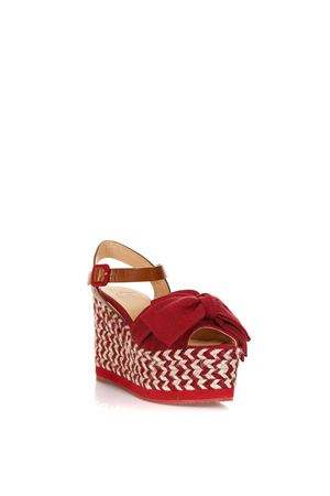 RED FABRIC EUCALIPTO SANDALS SS 2018  CASTANER | 87 | 020233EUCALIPTO810