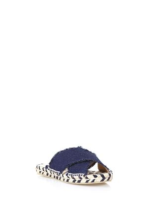 BLUE PALMERA ESPADRILLE IN COTTON SS 2018  CASTANER | 144 | 020285PALMERA2010