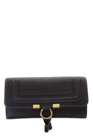 MARCIE BLACK GRAINED LEATHER WALLET SS 2018 CHLOÉ | 34 | 3P0573161001