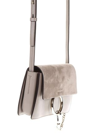 MOTTY GREY SMALL FAYE SUEDE SHOULDER BA SS 2018 CHLOÉ | 2 | 3S1127H20B79