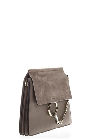 GREY SUEDE HOOKED BAG SS 2018 CHLOÉ | 2 | C17SS231H2O23WSACS PORTE EPAUMOTTY GREY