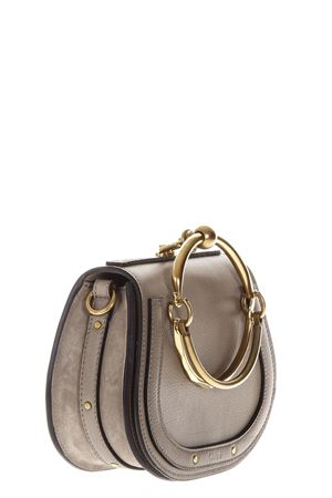 NILE SMALL GREY LEATHER BAG SS 2018 CHLOÉ | 2 | C17US301HEU23WSHOULDER BAGSMOTTY GREY