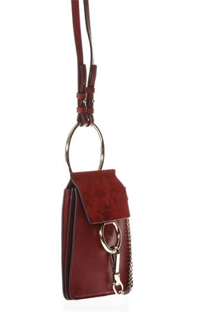 DAHLIA RED LEATHER BAG SS 2018 CHLOÉ | 2 | C17WS320H2O630MINI BAGS DAHLIA RED