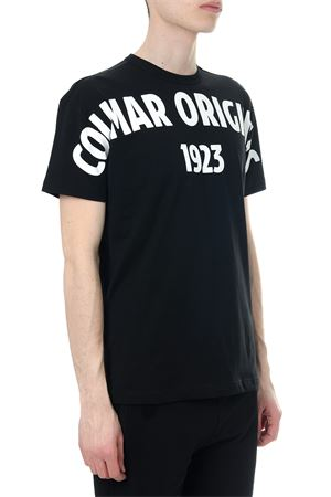 BLACK COTTON T-SHIRT WITH LOGO SS 2018 COLMAR ORIGINALS | 15 | 75986SH99