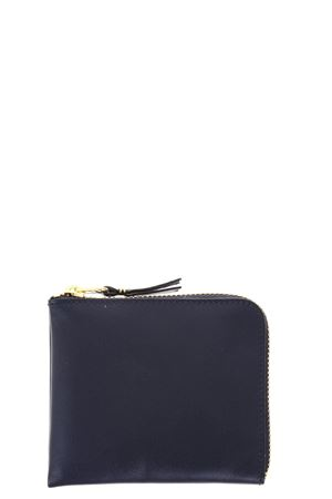 NAVY LEATHER WALLET SS 2018 COMME DES GARCONS | 34 | SA210014