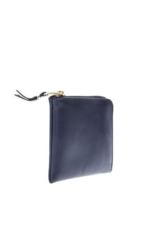 NAVY LEATHER ZIP AROUND WALLET SS 2019 COMME DES GARCONS | 34 | SA31001NAVY