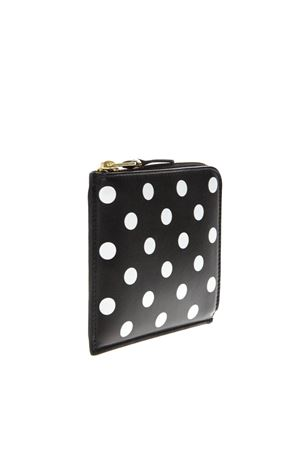 BLACK & WHITE PODKA DOTS PRINT IN LEATHER SS 2018  COMME DES GARCONS | 34 | SA3100PD1BLACK