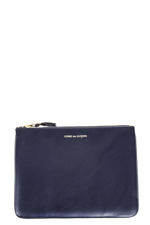 BLUE LEATHER HANDBAG SS 2018 COMME DES GARCONS | 5 | SA51001NAVY