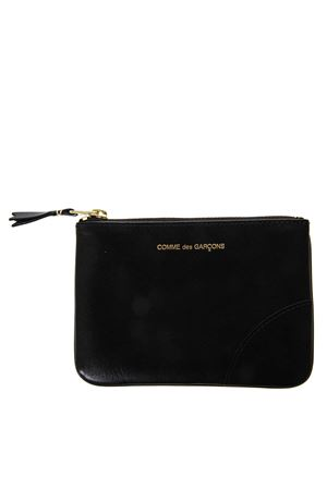 BLACK LEATHER POUCH SS 2019 COMME DES GARCONS | 5 | SA81001BLACK