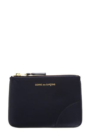 NAVY LEATHER POUCH SS 2018 COMME DES GARCONS | 2 | SA81001NAVY