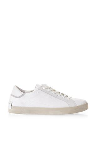 WHITE CANVAS SNEAKERS SS 2018 CRIME | 55 | 11339UNI10