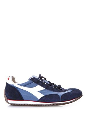 SNEAKERS EQUIPE IN CANVAS AND LEATHER SS 2018 DIADORA HERITAGE | 55 | 201.156988EQUIPE STONE BLU CINA/BLU PROFONDO