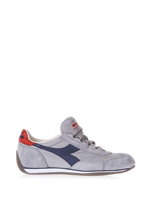 EQUIPE STONE GREY SNEAKERS IN SUEDE SS 2018 DIADORA HERITAGE  373e8525a54