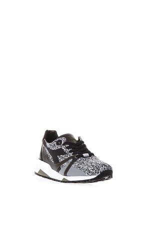 Black Heritage shoes in nylon SS2018 DIADORA HERITAGE | 55 | 201.172783N9000 H FUSENERO/BIANCO