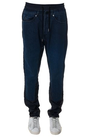 BLUE COTTON DENIM JOGGING PANTS SS 2018 DIESEL BLACK GOLD | 8 | 00SA01BG51N86U