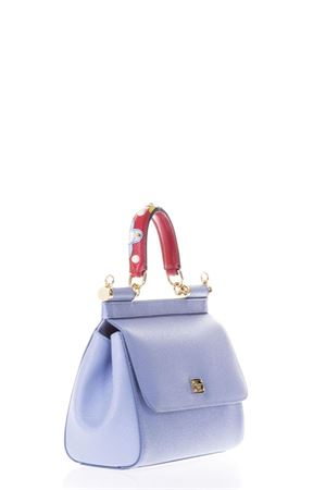 MINI SICILY LEATHER BAG WITH EMBELLISHED HANDLE SS 2018 DOLCE & GABBANA | 2 | BB6003AI3528H422